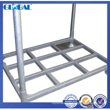 Steel tube structure of stacker rack for warehouse storage