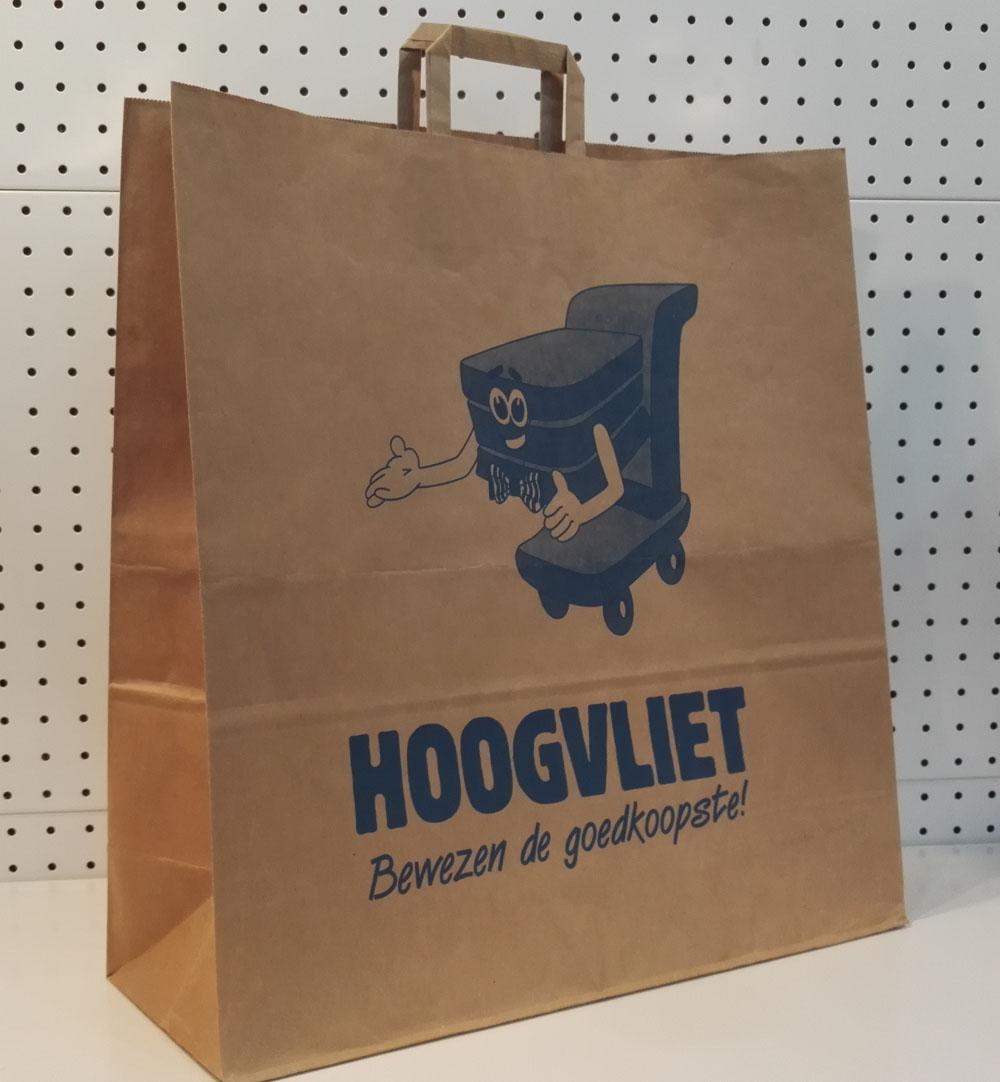 Shopping Bag with Flat Handle