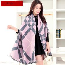 Tingyu fashion women style frond palma leaf best-selling 100% pashmina ponchos festival pashmina scarf shawl