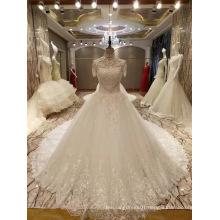 New Arrival 2017 Top Princess Marriage Short Sleeve Wedding Dresses