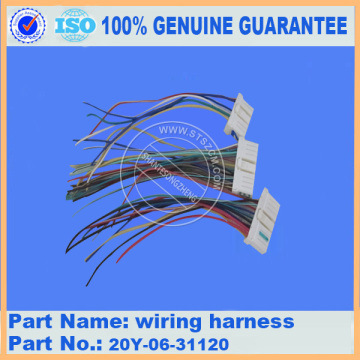PC220-7 WIRING HARNESS 20Y-06-31120