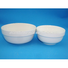 China Manufacturers porcelain rice bowl with customer's logo