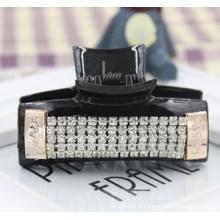 Griffe de diamants de pierre de résine noire de haute qualité (XHJ14318)