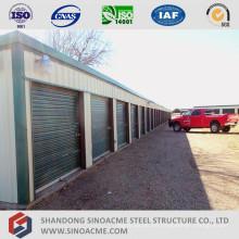 Prefab Stahlrahmen Mini Warehouse Storage Shed