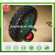 400-8 habló la rueda de la espuma del pu del estilo para el mercado de Oriente Medio de la carretilla