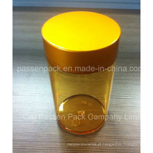 Âmbar pet injeção medicina garrafa para cápsulas de vitamina (PPC-PETM-012)