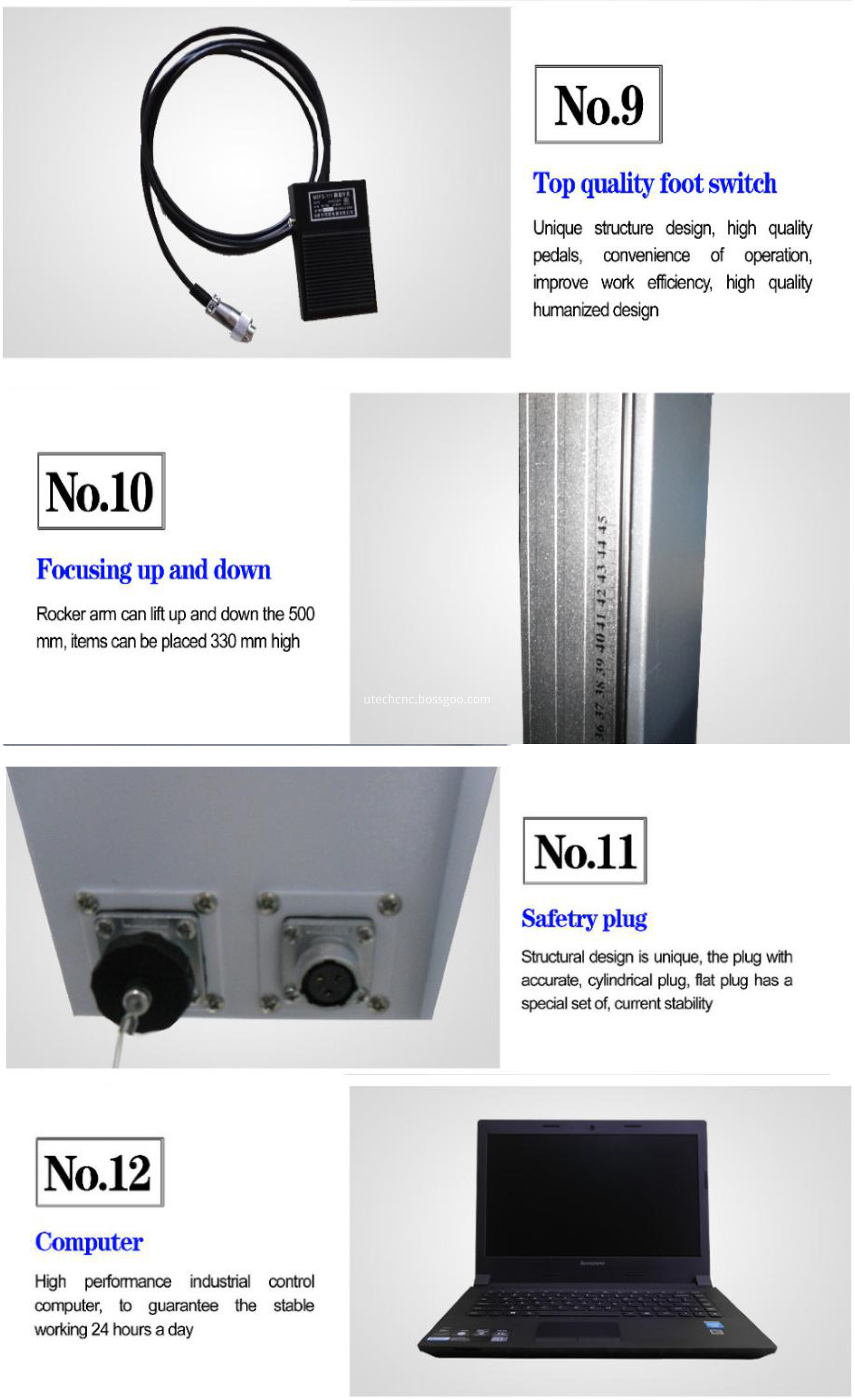metal marking machine with fiber power supply