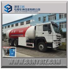 Sinotruk HOWO 371HP 24000L Bulk LPG LKW für Dispensing LPG