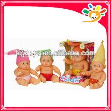 24CM nette Vinylbabypuppe, Babyspielwaren