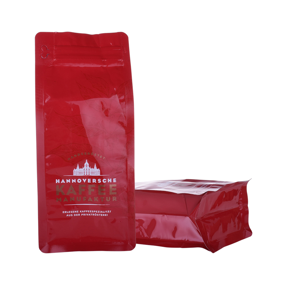 plastic pouch coffee bag