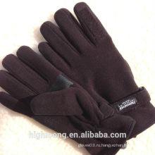 Зимние наручные тонкие теплые перчатки
