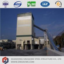 Planta de mistura concreta da estrutura alta da estrutura de aço da elevação