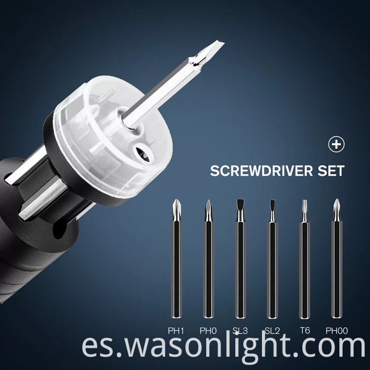 Screwdriver Set Flashlight