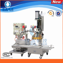 Máquina de rellenar automática líquida de alta calidad 8-12 barriles / minuto