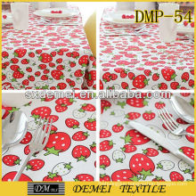 pretty polyester/cotton textile fabric printed 2013