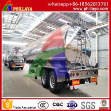 50000L Tri-Axle Aluminum Fuel Semi Trailertank Truck