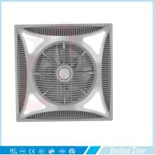 Ventilador de techo plástico sin ventilador eléctrico de 14 '' (USCF-162) con LED