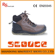 Nicht Leder Stahl Zehe und Stahl Platte Arbeitsstiefel RS94