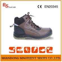 Botas de trabalho sem chumbo de aço inoxidável e placa de aço RS94
