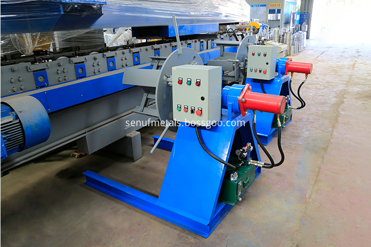 3 tons hydraulic decoiler