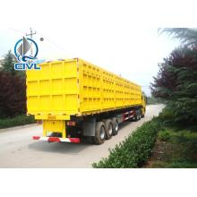 Sinotruk cimc 3Axles Tipping Trailer รถบรรทุก