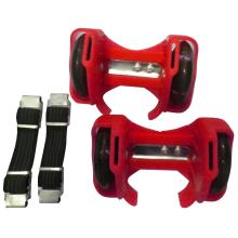 популярные два колеса PVC СИД Проблескивая ролик