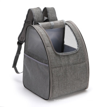 New product large-capacity transparent steel wire breathable pet space capsule bag