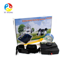 2016 W-227B pet fencing system -collar Waterproof and Rechargeable hot sell dog fence product