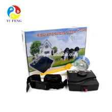 2016 W-227B pet sistema de esgrima -collar impermeável e recarregável venda quente produto cerca do cão