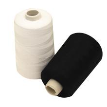 Fil de tissage recyclé de polyester de coton recyclé