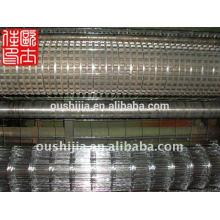 Maille de soudure à construction et maille électro-galvanisée soudée et treillis soudé galvanisé à chaud