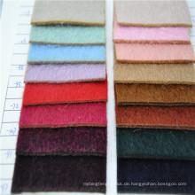langes Haar Wolle / Alpaka Mischungen Stoff Wollstoff für Mantel