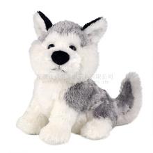 ICTI fábrica realista dog stuffed animals atacado personalizado brinquedo de pelúcia