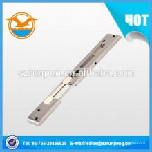 Hardware de muebles de bisagra de puerta de extrusión de acero inoxidable