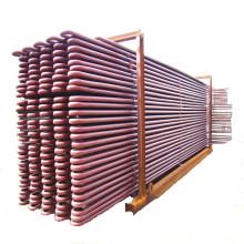 Calentador de piezas de caldera en centrales térmicas