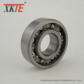Nylon Cage Conveyor Idler Bearing 6204 KA / TN9