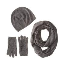 PK18A26HX Women's Cashmere Gift Box Set- Hat,Gloves,Scarf