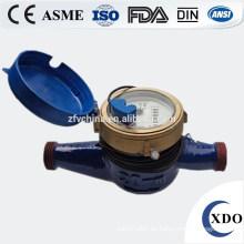 Rueda de paletas multi-jet seco-dial pulso agua medidor