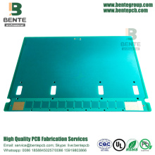 "Prototype PCB 2 Layers 3.2mm FR4 PCB ENIG 2u ""Placa grossa"