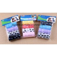 Saco do plástico do animal de estimação do cão do HDPE
