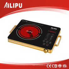 Double Circle Heating Infrared Cooker with Aluminium Body (SM-DT207)