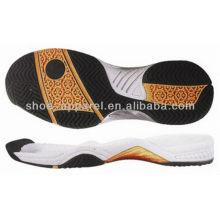 semelle de chaussure en gros / 2013 dernières semelles de tennis et de badminton