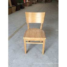 Chaises dinantes en bois solides durables de restaurant utilisé qui respecte l'environnement