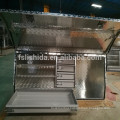 OEM Waterproof aluminum truck bed tool box with drawers