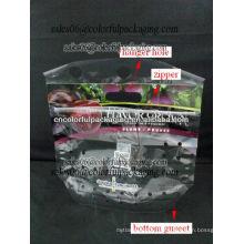 Micro saco de plástico perfurado para vegetais