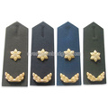 High Quality Embroidery Military Rank Metal Epaulettes
