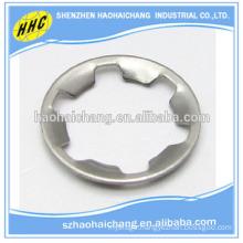 customized nonstandard stainless steel galvanized lock star gasket