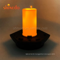 Good Quality Small Cheap Waterproof Solar Led Flickering Flame Light For Outdoor Night Lighting