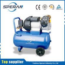 Compresor de aire impulsado directo portátil de 3 hp del mejor precio de la fábrica profesional 50l