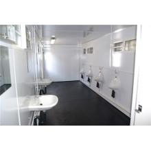 Toilettes modulaires et préfabriquées de tailles différentes (shs-mc-ablution006)